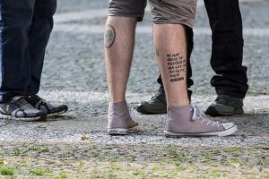 "Quelle: Andreas Taubner Tattoo: ""14words"""