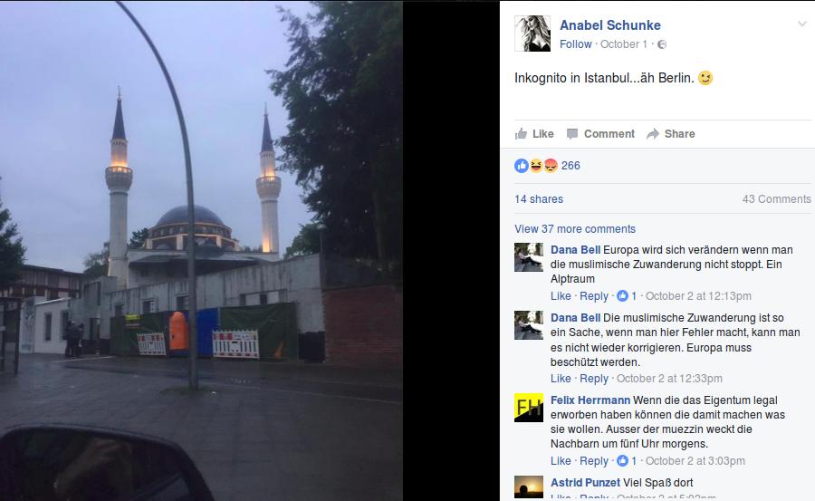 Schunke als Idealbeispiel dafür, wie eine feministische Islamkritik eben nicht aussehen sollte.