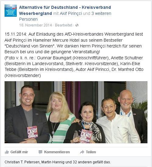 Rechter Schriftsteller zu Besuch in Hameln