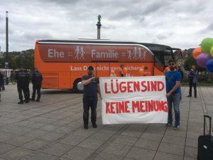 Propagandamittel Bus